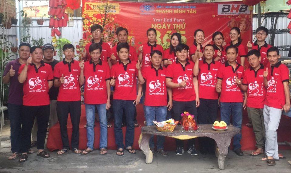 'KENTECH' Công ty TNHH – TM Điện tử Viễn thông Thanh Bình Tân: Tưng bừng tiệc tân niên năm Canh tý 2020